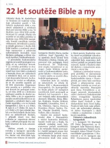 Zpravodaj ČBS č.1/2016